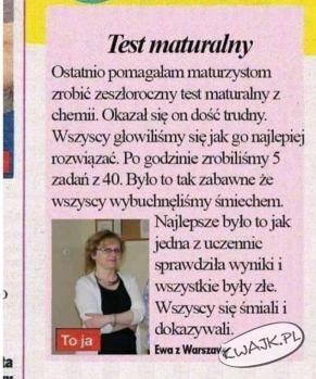 Test maturalny