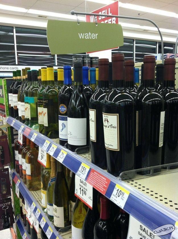 Woda zamieniła się w wino