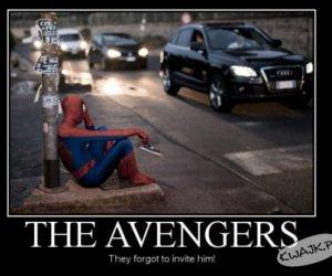 Nie wzięli go do Avengers