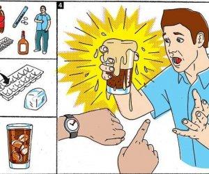 Cola i mentosy - czyli jak zrobić kogoś w konia