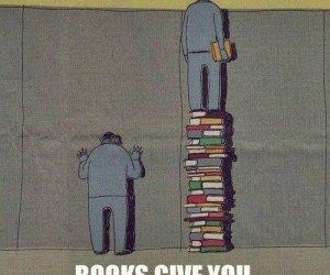 Książki dają lepszą perspektywę