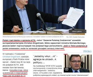 Polski rząd kłamie!