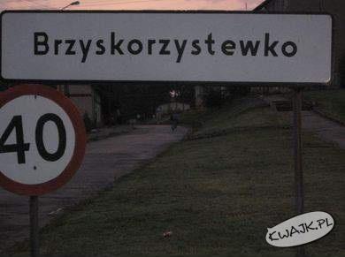 Dziwna miejscowość
