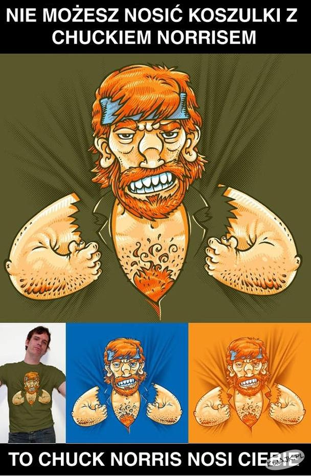 Koszulka z Chuckiem