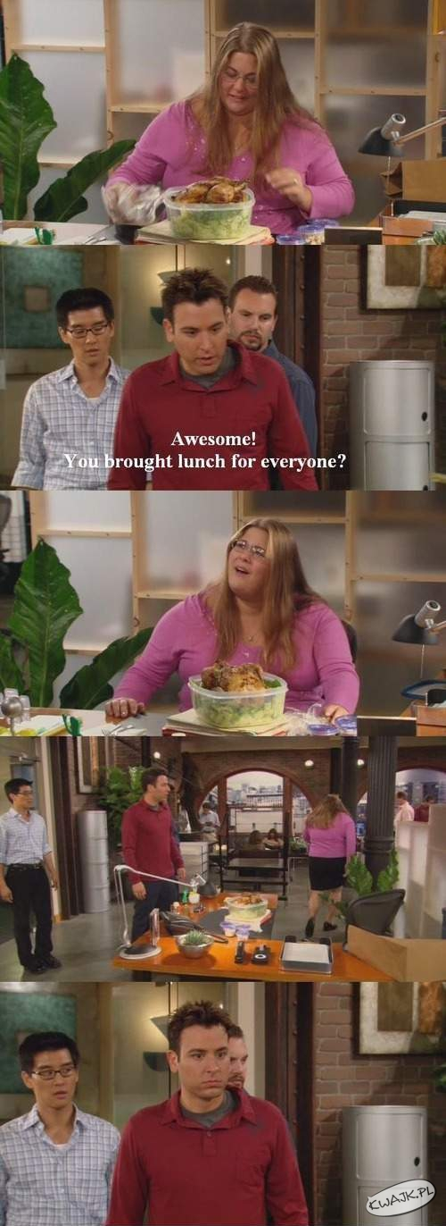 Lunch dla wszystkich?