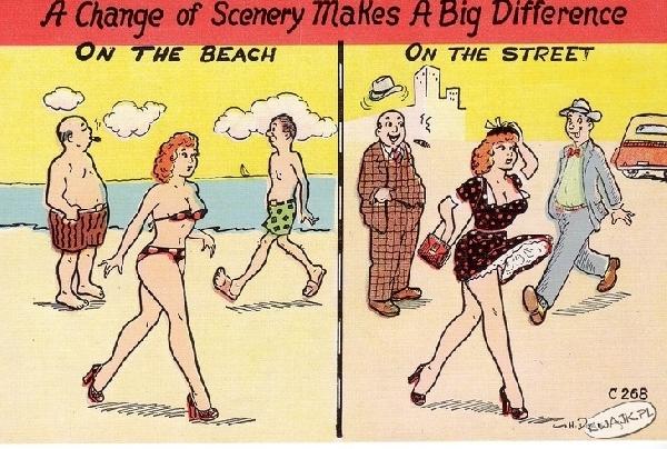 Zmiana krajobrazu robi wielką różnicę