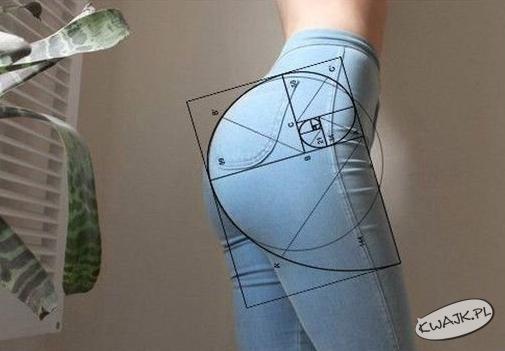 Matematyka nie kłamie. Tak wygląda idealny tyłeczek!