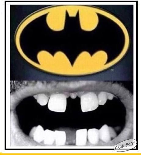 Batman vs. uzębienie