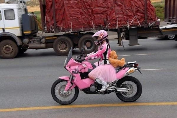 Księżniczka na motorze