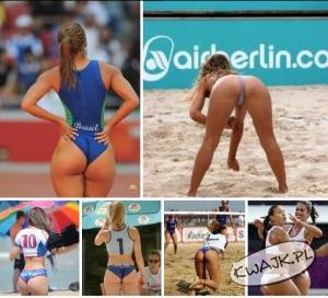 Męski sport - siatkówka kobiet