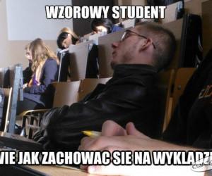 Na wykładzie
