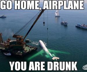 Idź do domu, jesteś pijany