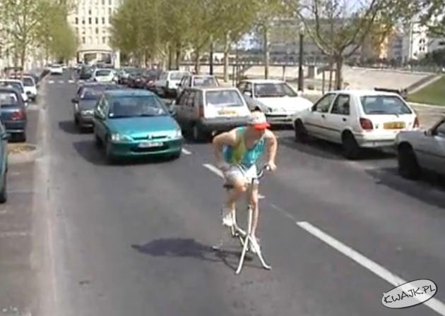 Prawie jak na rowerze
