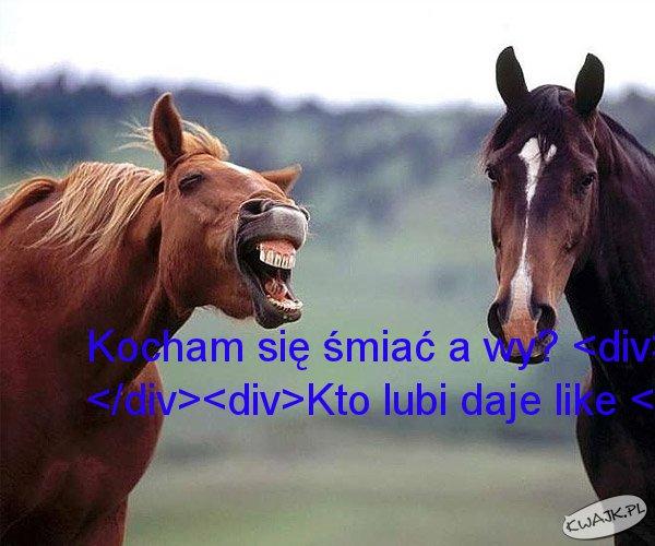 Ja lubię się śmiać a wręcz kocham xdd