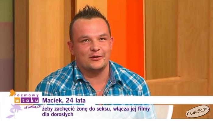 Biedny Maciek