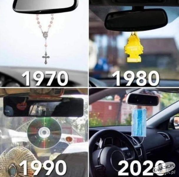 1970 vs 1980 vs 1990 vs 2020