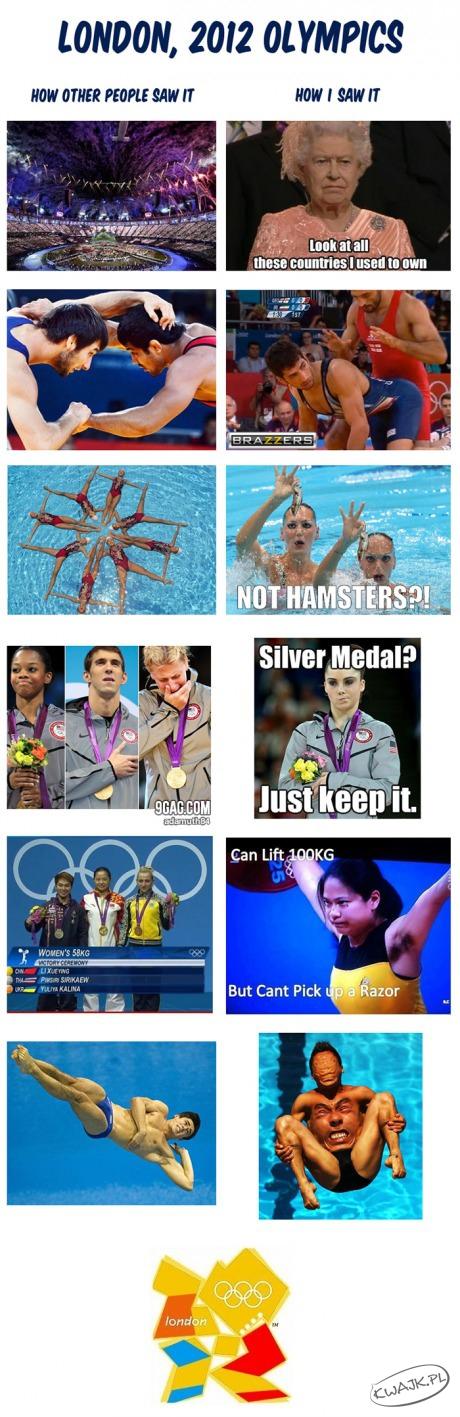 Olimpiada w moich oczach