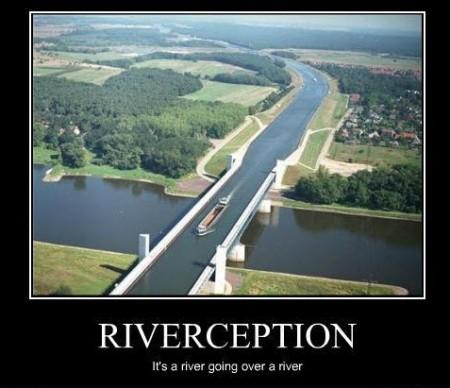 Rzeka nad rzeką