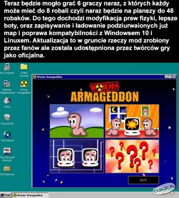Po 21 latach wyszła aktualizacja do Worms Armageddon!