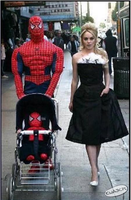 Żona spidermana