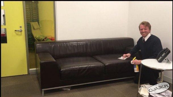 Najpopularniejsza sofa w internecie ;)