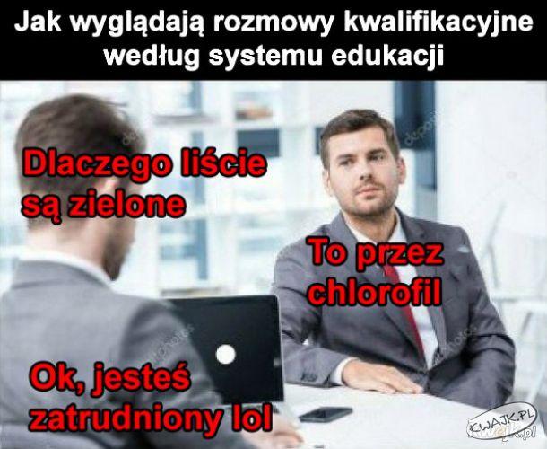 Jak wyglądają rozmowy kwalifikacyjne według systemu edukacji