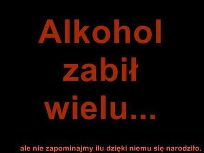 Prawda o alkoholu...