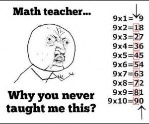 Dlaczego nauczyciel od matmy nigdy mi tego nie powiedział!