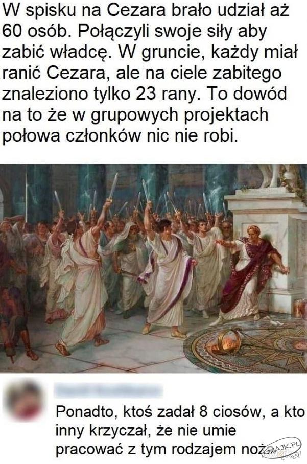Spisek na Cezara