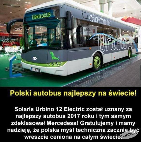 Polski autobus najlepszy na świecie!