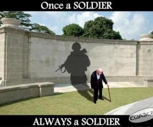 Żołnierzem pozostaje się na zawsze