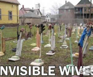 Niewidzialne żony
