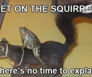 Wskakuj, później ci wyjaśnię
