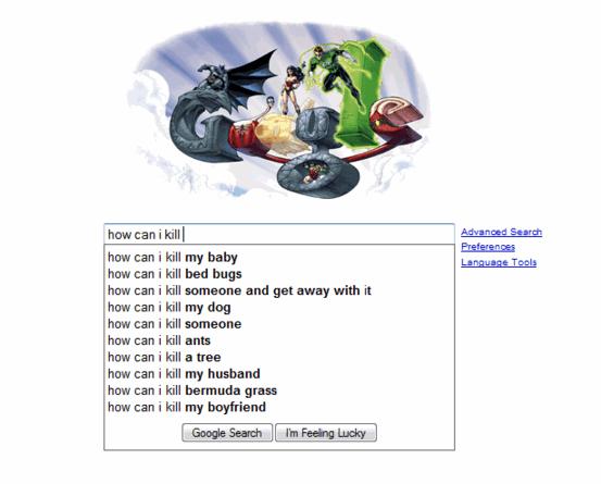 Czego ludzie szukają na google