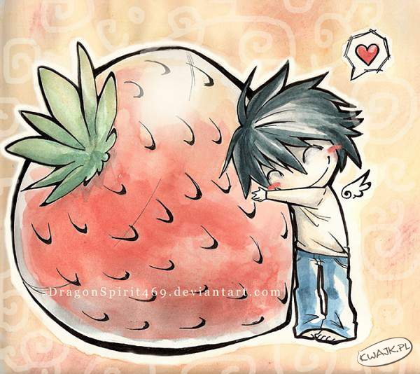 Duża truskawka
