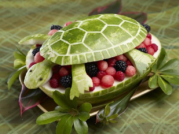 Smaczny żółw