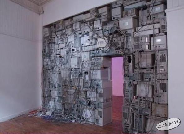 Komputerowa ściana