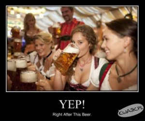 Randka zaraz po tym piwie