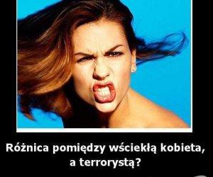 Kobieta i terrorysta