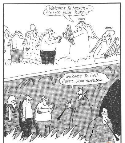 Różnica między niebem a piekłem