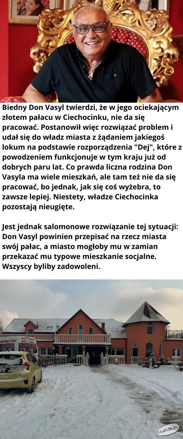 """""""Biedny Don Vasyl..."""""""