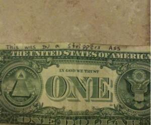 Zgadnij, gdzie był ten banknot?