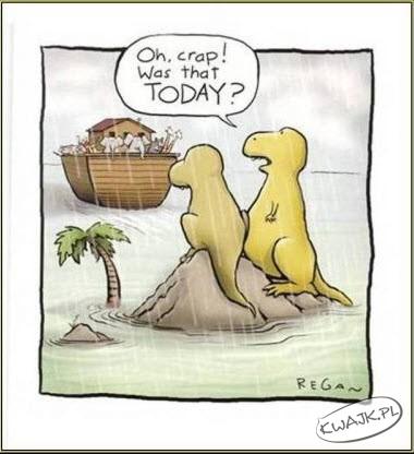 Ożesz w morde, to dzisiaj odpływamy?