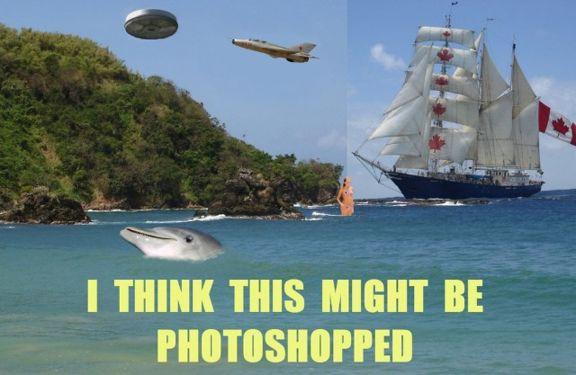 Myślę, że to może być photoshopka