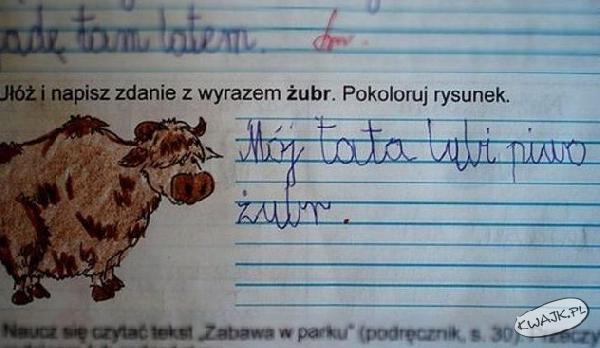 Ułóż zdanie...