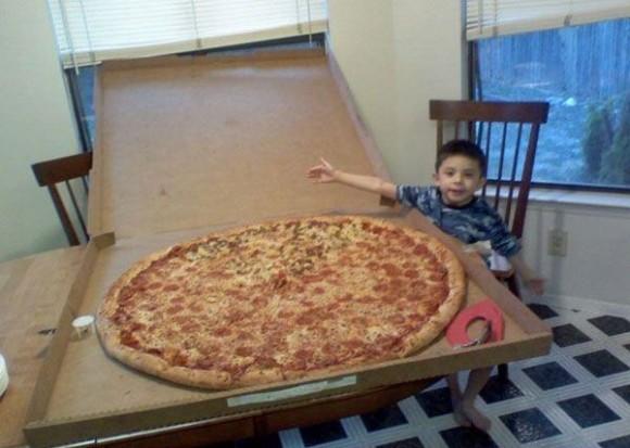 To się nazywa pizza