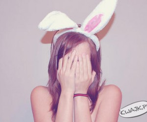 Dziś będę Twoim króliczkiem