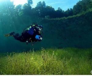 Podwodny spacer