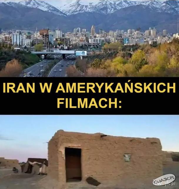 Iran naprawdę vs. Iran w amerykańskich filmach