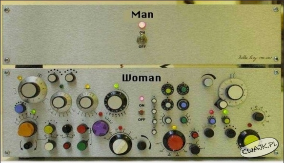 Kobiety są troszeczkę bardziej skomplikowane
